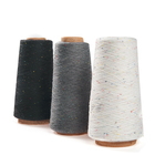 Cotton Yarn The Color Point Of Black/white/grey Cotton Yarn For Weaving