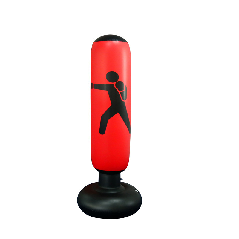 Home Gym Fitness Inflatable heavy Punching Bag Standing kick boxing Stand up Boxing Bag