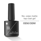 uv gel no Wipe Matte Top Coat Soak Off UV LED Gel Nail Polish Matte Finish and Long Lasting gel