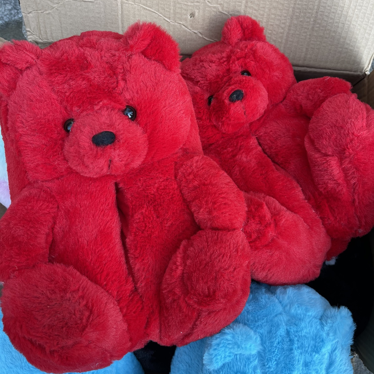 Factory direct sales Teddy Bear Slippers new arrivals fuzzy house slippers