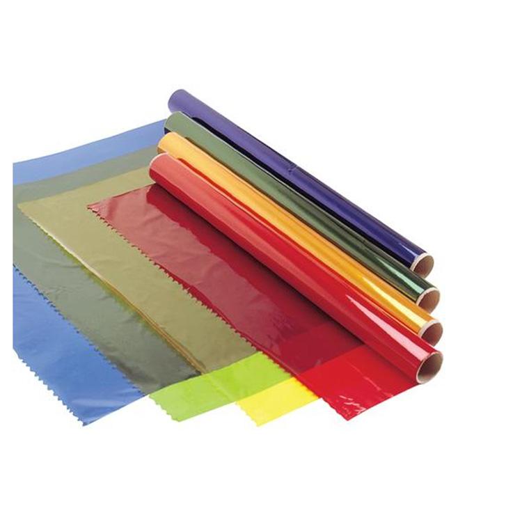 Целлофановая бумага для упаковки бумаг с цветочным принтом
