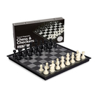 Modern Chess Themed Chess Set Manufacturer Modern Design Handmade Different Theme Of Magnetic Chess Table Games Set For Sale