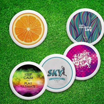 sports outdoor toys plastic ultimate disc blank flying disc