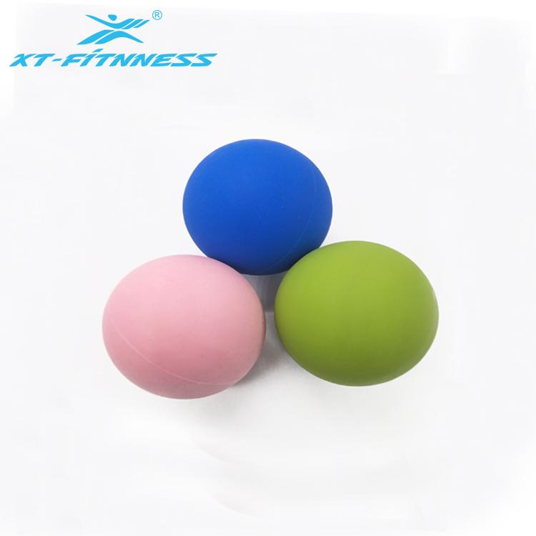 Массажный мяч для фитнеса с логотипом на заказ, силиконовый мяч для Лакросса, массажный мяч