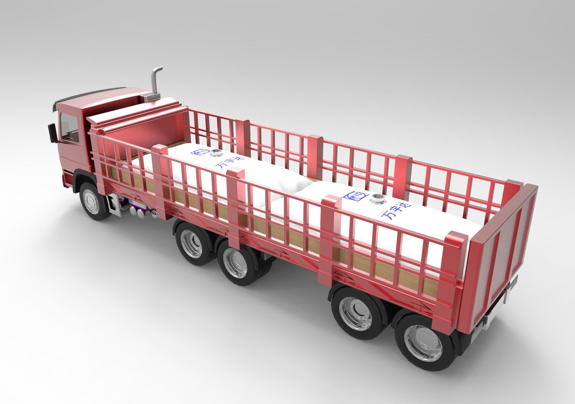 Quality Truck trailer flexitank Liquid bag FLEXITANK IN TRUCK