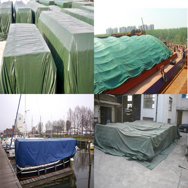China Supplier Green Waterproof PVC Tarpaulin Can be Used to Covering the chair and covering the Ground Out Door