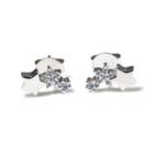 New Listing Star Cute Sterling Silver 925 Stud Earrings for Valentine's Day present