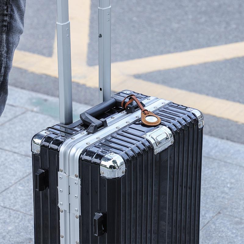 Багажная бирка Apple airтеги, кожаный чехол с защитой от потери, Мягкий защитный чехол, брелок-локатор, сумка-трекер для AirTag