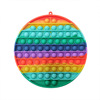 20CM round orange rainbow
