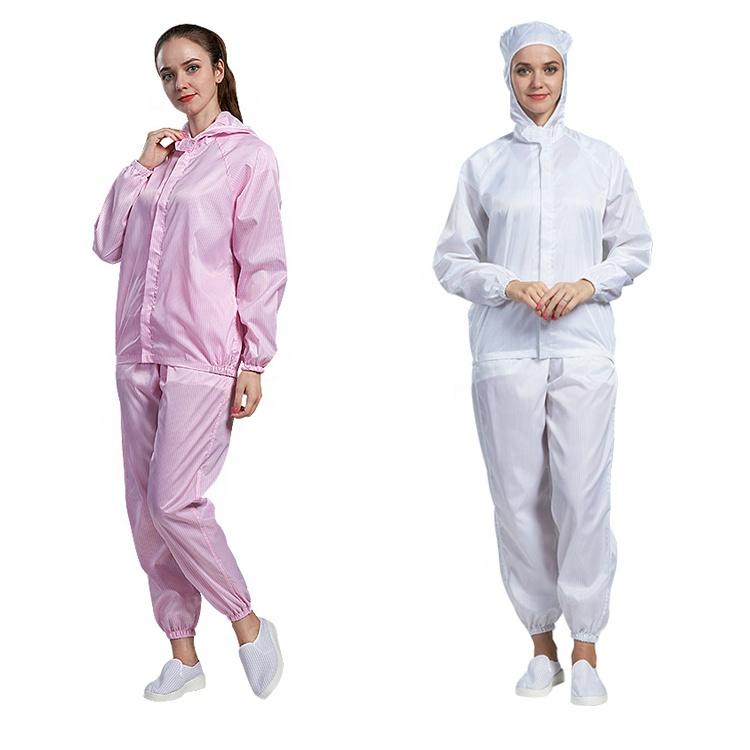 Cleanroom White esd anti-static sterile suit - KingCare | KingCare.net