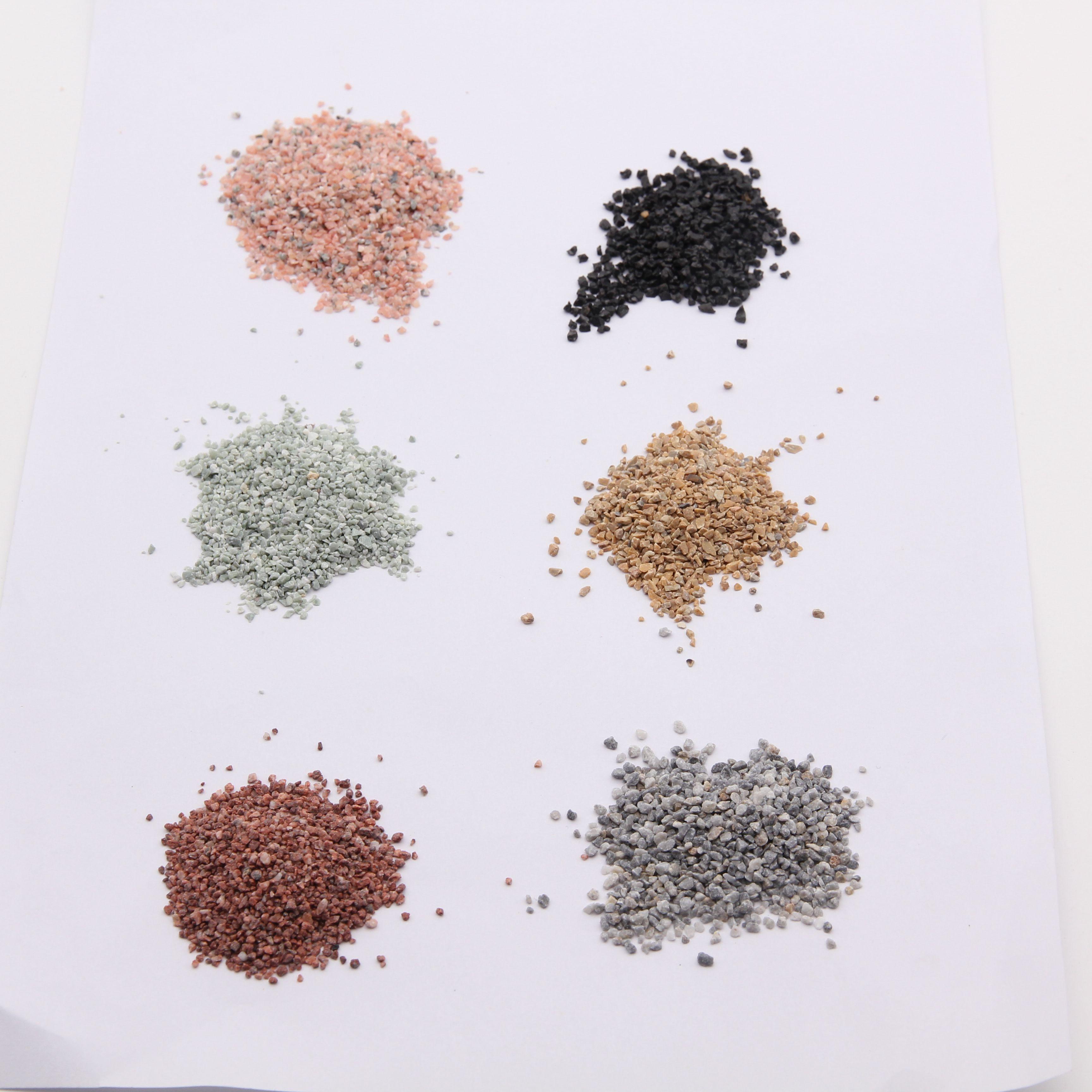 Натуральный черный песок/гравий для строительства
