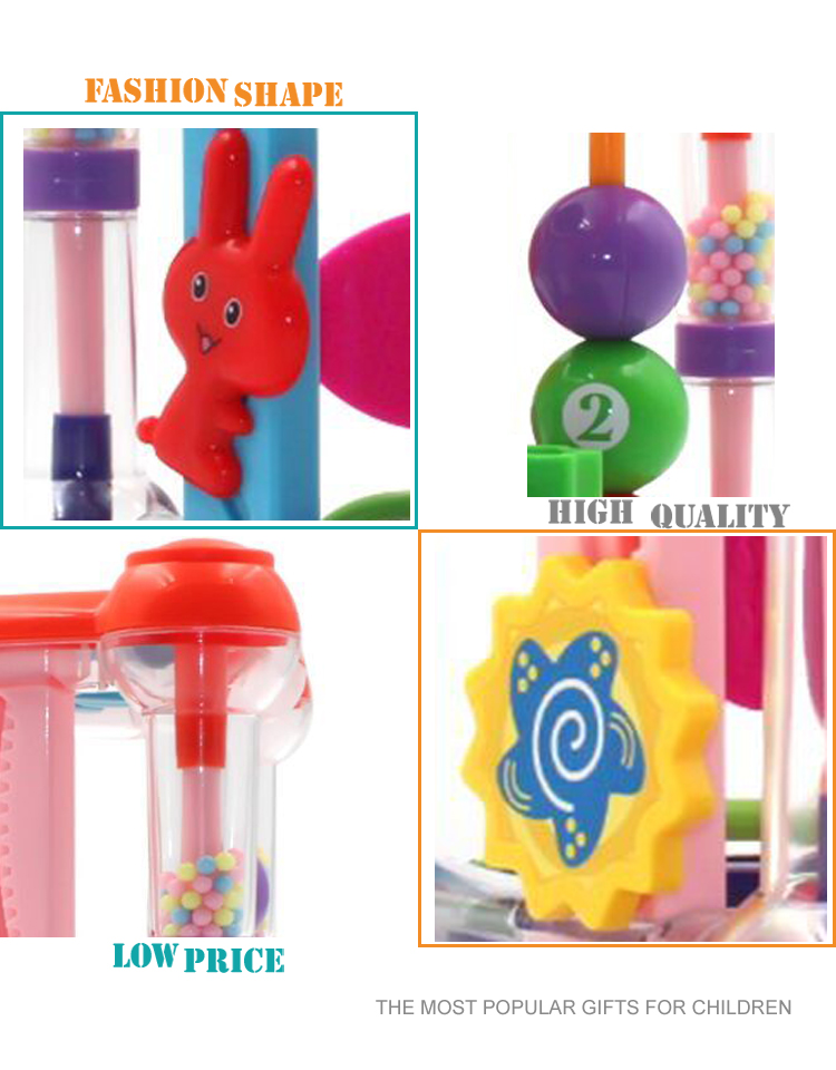 Multifunctional enlighten funny baby cube educational toys & games