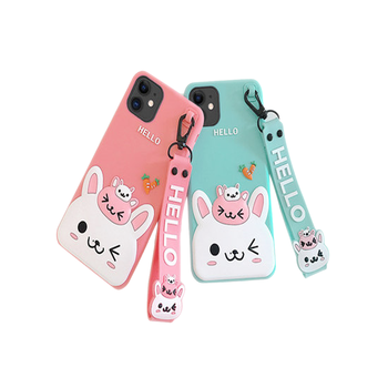 2020 Manufacture Custom Liquid Silicone 3d Cartoon Fashion Cute Designer Brand Name Cell Phone Case With All Phone models