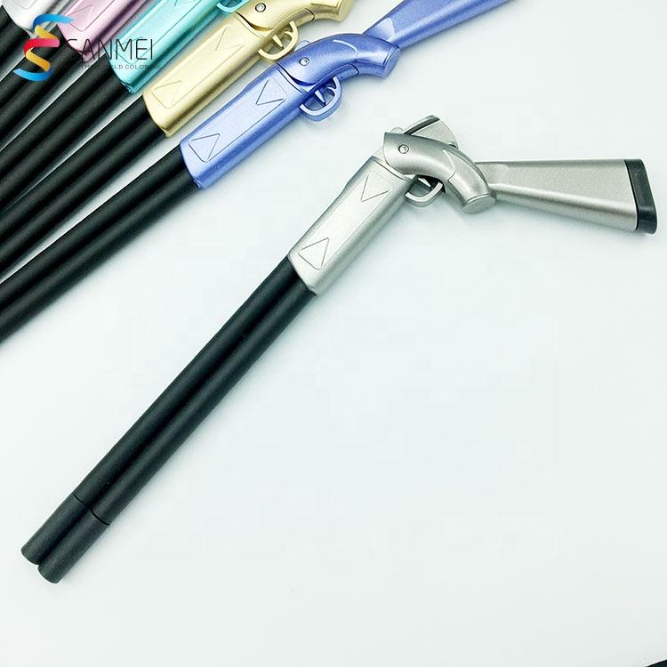 Новый пистолет, как ручка, рекламная креативная шариковая ручка, пистолет