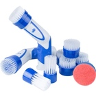 7.2V rechargeable Li-ion cordless electric power scrubber dish scrubber brush all purpose cleaning