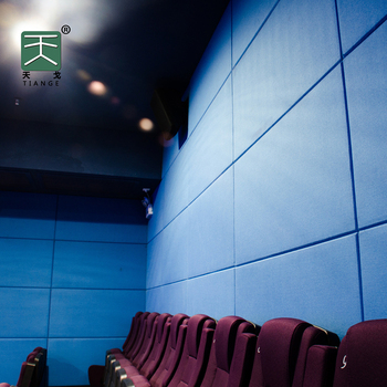 TianGe Factory 4'x8' eco friendly Home theater Wall sound proof Fabric Acoustic foam Panels