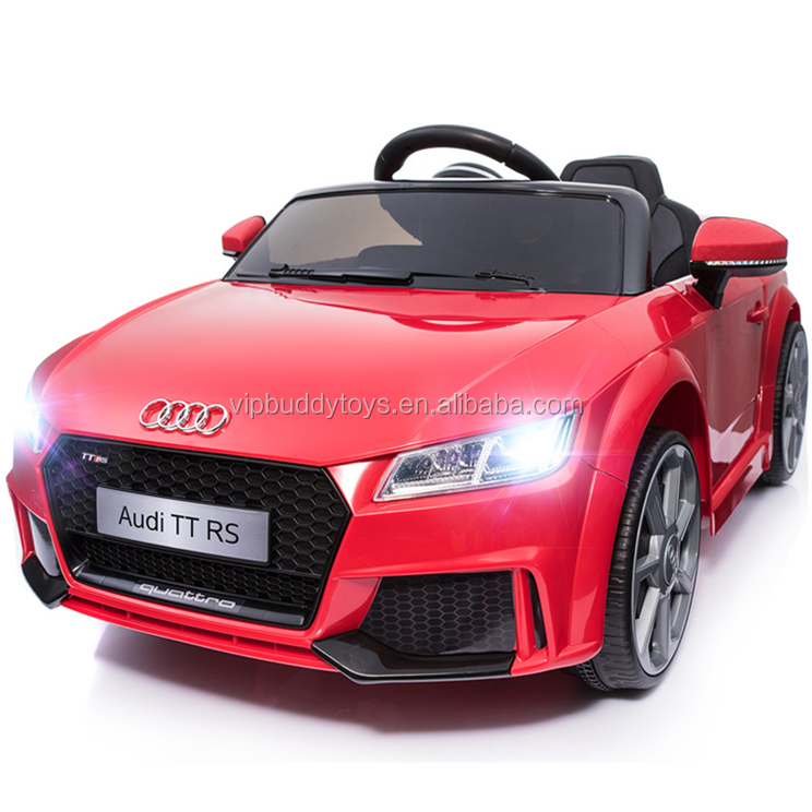 Licensed AUDI TT RS battery powered kids ride on electric car toddler toys hot kid toy