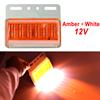 Amber + White 12V