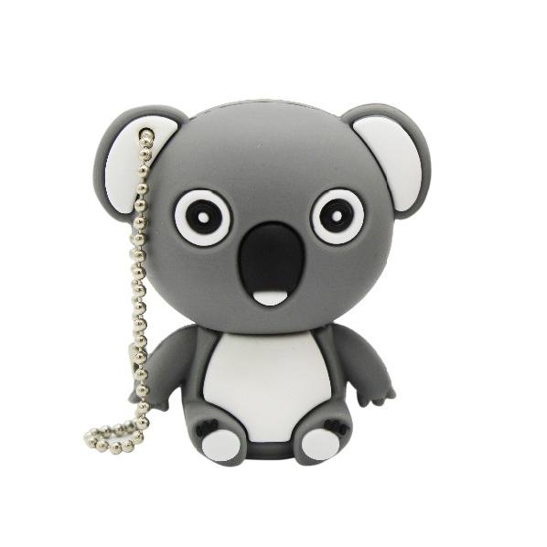 2021 Wholesale Cute Cartoon Animal Koala Gary Brown Model Usb Flash Drive Usb 2.0 4GB 8GB 16GB 32GB 64GB 128GB Creative Pendrive - USBSKY | USBSKY.NET
