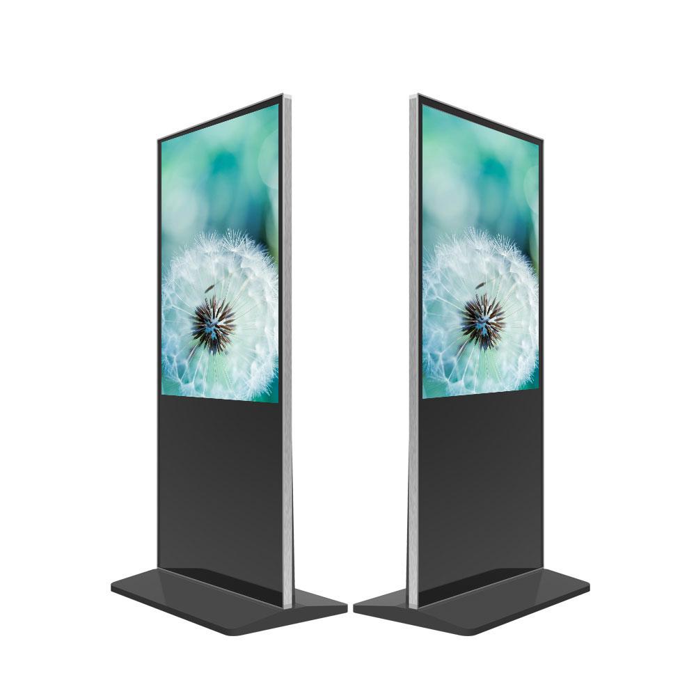 55 дюймов Напольный LCD TFT экран Digital Signage