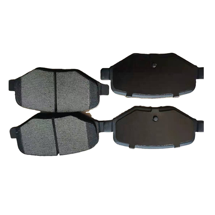 Auto brake parts high performance quality production ceramic car disc brake pad front brakes for Nissan Leaf Altima D1650