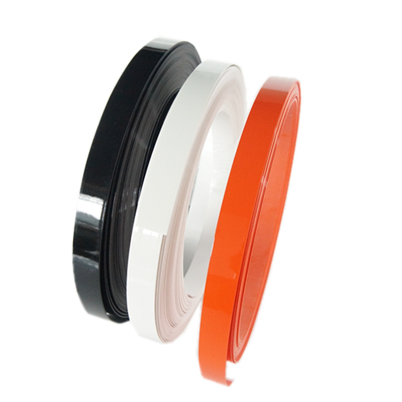 Cabinet edge trim for or doors/tables/cabinets PVC flexible plastic edge banding tape
