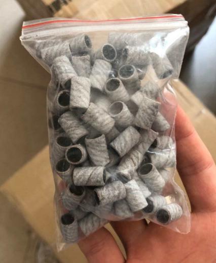 White Zebra Nail sanding band Grinding Head Polishing Machine Power Tool Unloading Nail Polishing Tool