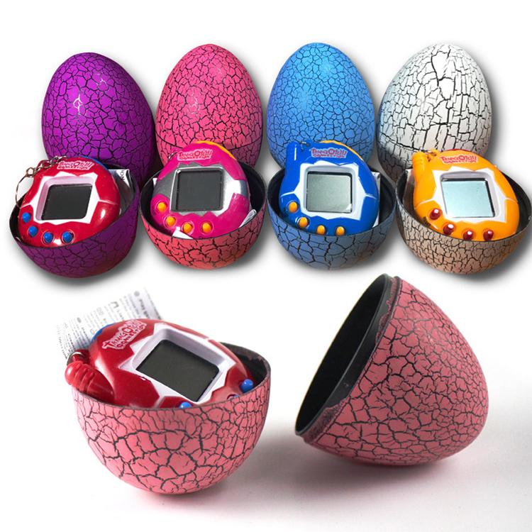 Стакан для игрушек Tamagochi, виртуальный питомец, игровой автомат, динозавр, яйцо, игрушка, цифровой электронный питомец, ретро кибер-игрушка, портативная игра для детей