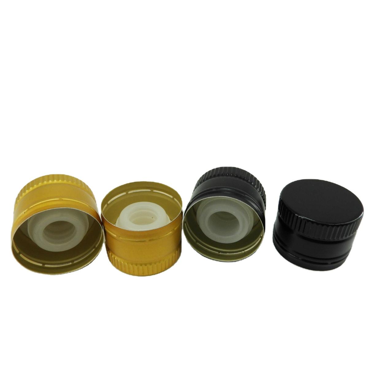 Алюминиевая крышка для бутылки с оливковым маслом с логотипом на заказ, 31,5*24 мм, крышки для бутылок Оптом, крышки для бутылок