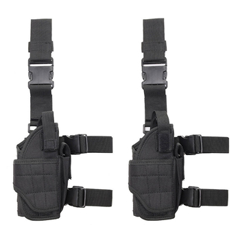 Universal Modular Adjustable Leg Holster Fanny Pack Molle Thigh Tactical drop leg pistol holster