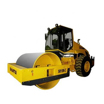 Hydraulic Road Roller Shantui SR18 Single Drum Road Roller Price 18t