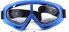 透明レンズブルーフレーム