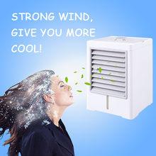 USB Домашний Настольный вентилятор для кондиционера, портативный мини-кулер, быстрый и простой в охлаждении # F(Китай)