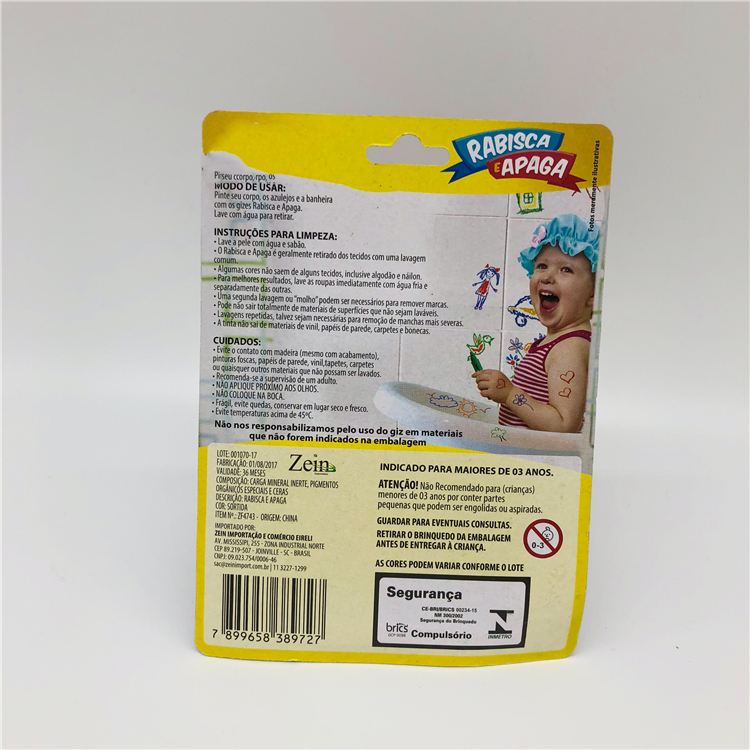 Twistable Dry Erased And Wet Erased Non-toxic Bath Crayon
