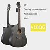 41 inch quality basswood guitar GRAY