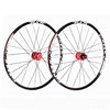 27.5-red-Only Front wheel