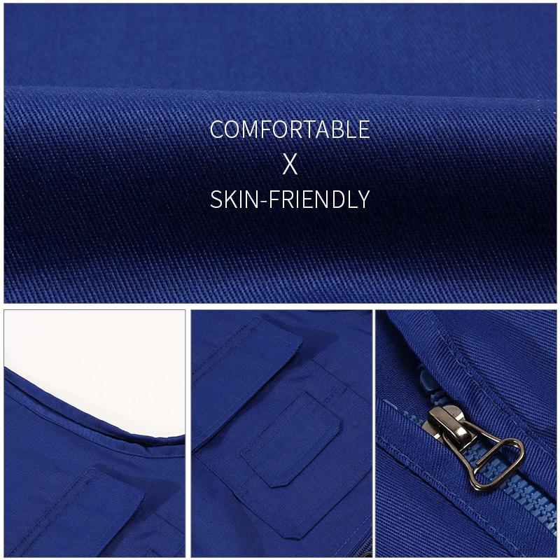 Custom designs newest hot sales outdoor men's multi pocket photography vest fishing cotton vest