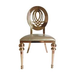 Stackable Stainless Steel Modern Restaurant Cafe Furniture Chair Wedding Hotel Bar Chair