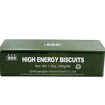 High energy survival supplies biscuits