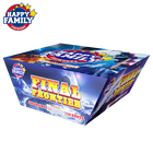 Sell Wholesale Happy Family Factory Top 10 Hot Sell Pyro New Year Chrismas 1.4g 500g Fan Shape Cake Final Fireworks Fire Works