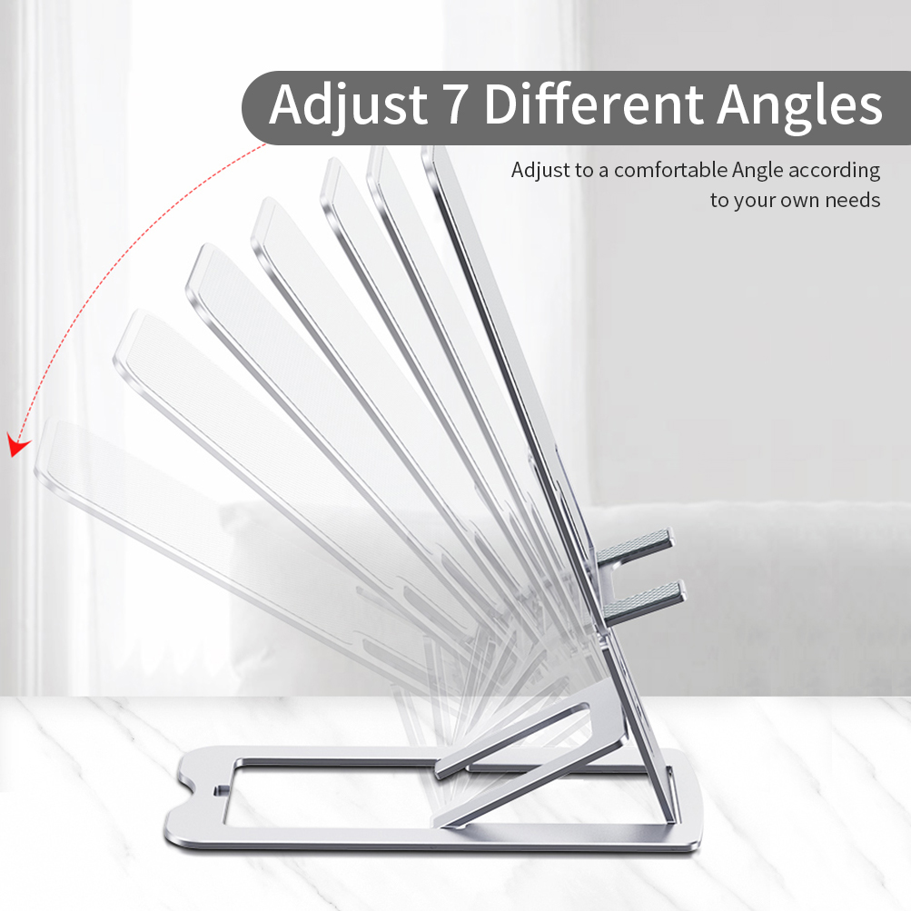 Adjustable Viewing Angle Aluminum Alloy Tablet Stand 2021 Creative Mobile Phone Holder