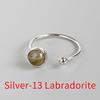 Silver-13 Labradorite