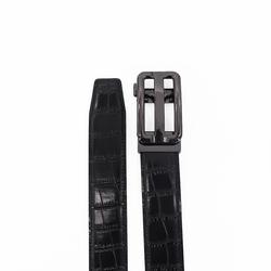 2021 Заводская оптовая продажа индивидуальный Высококачественный ремень с крокодиловой текстурой мужской автоматический ремень из натуральной кожи