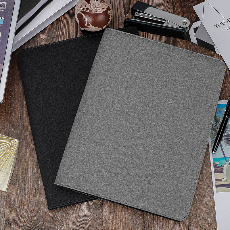 Hot selling products Various Storage Function Power Bank Leather Portfolio