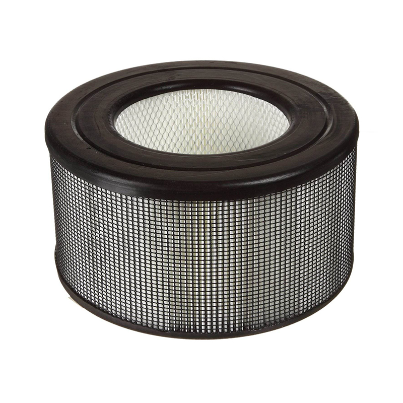 Customized size Plastic Frame Ture HEPA Filter cartridge filter for Home Air purifier cylindrical filter