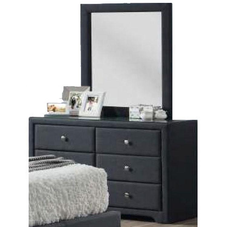 Modern simple bedroom 6 drawers storage dresser