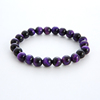 Purple Tiger Eye Stone Beads