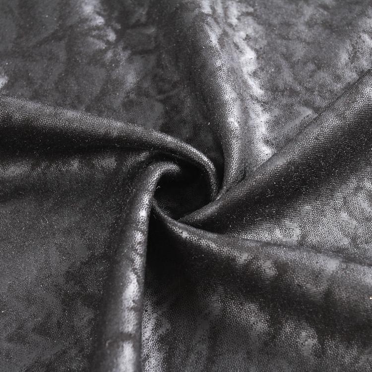 2020 Latest Customized ponte roma rayon spandex foil fabric price