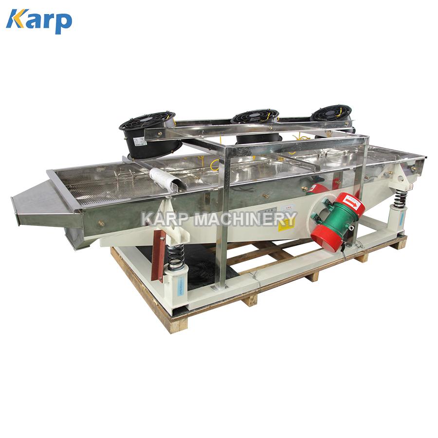 High efficiency sand vibration separator sieve machine linear vibrating screen