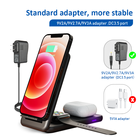 Oem Apple OEM 18W QI Wireless Charger 3 In 1 Dock Station Wireless Phone Charger For Iphone 11 For Apple Watch 5 For Airpods